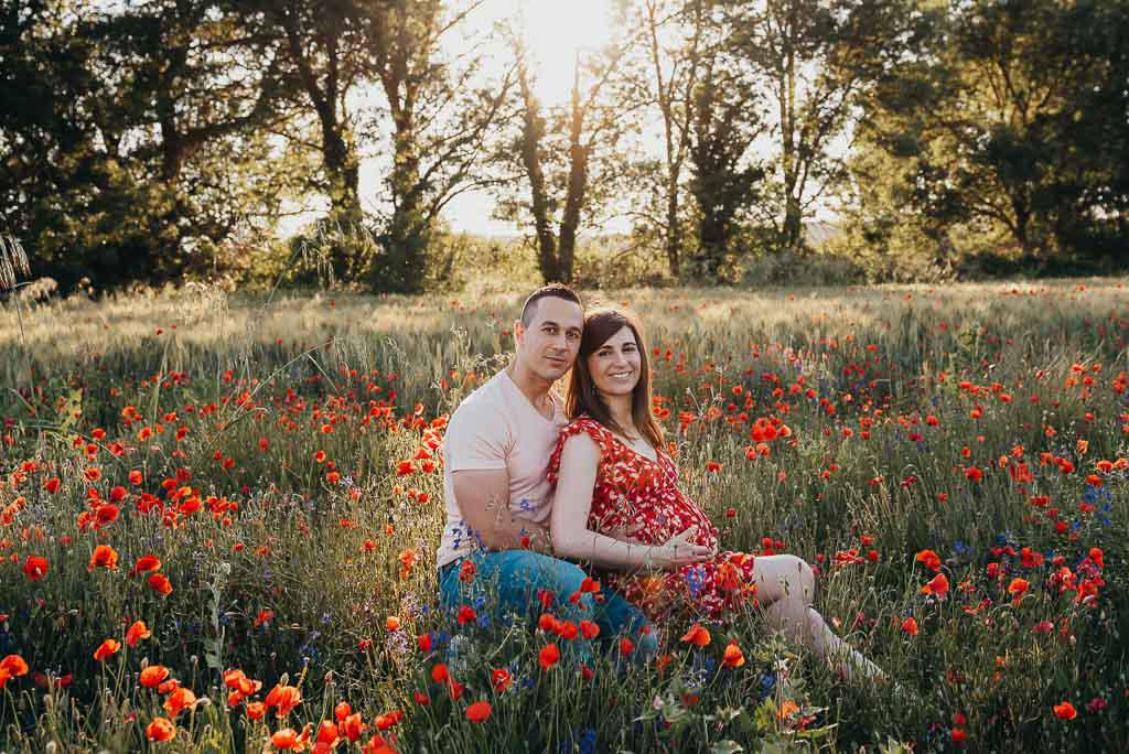 photographe grossesse couple